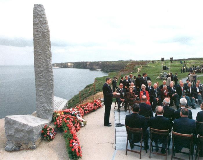 Przemówienie Ronalda Regana przy obelisku w kształcie penisa