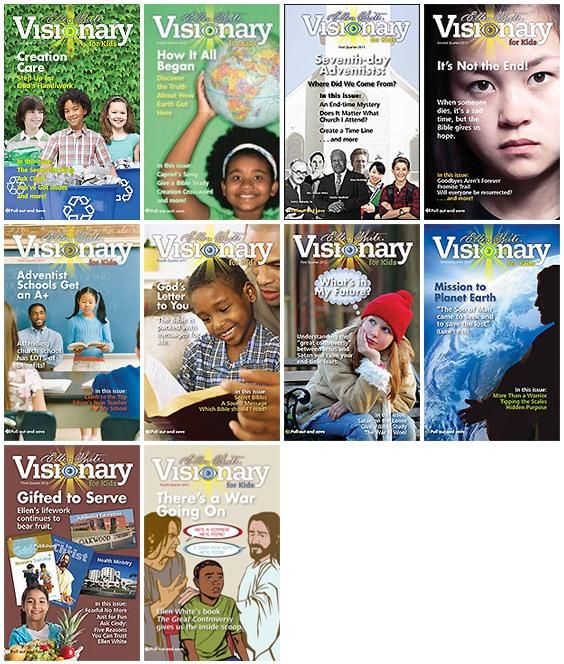 Czasopismo dla dzieci i młodzieży visionary4kids