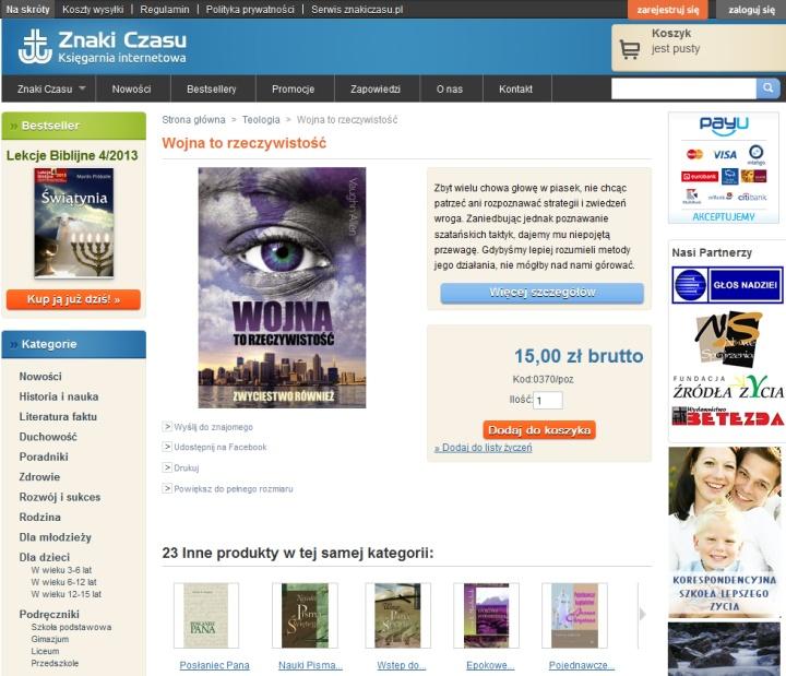 Księgarnia internetowa Znaki Czasu