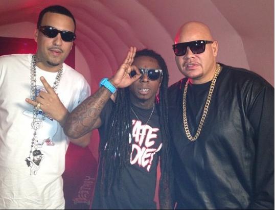 Fat Joe Lil Wayne French i wszystkowidzące oko