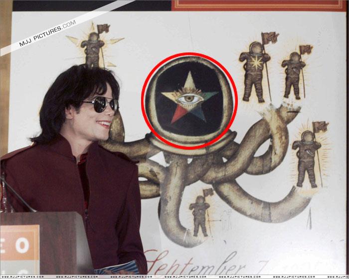 Michael Jackson 1995 i wszystkowidzące oko