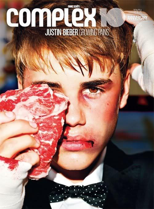 Justin Bieber i wszystkowidzące oko