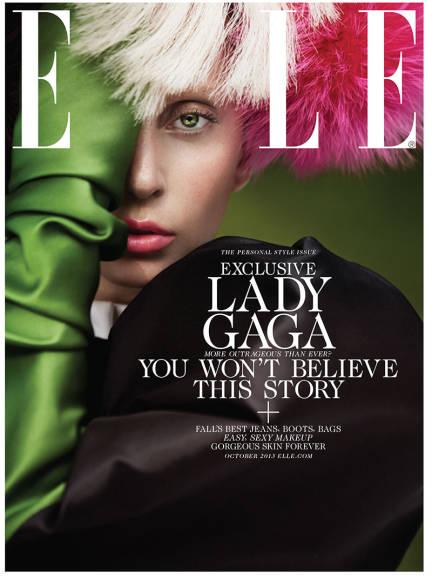 Magazyn Elle - Lady Gaga