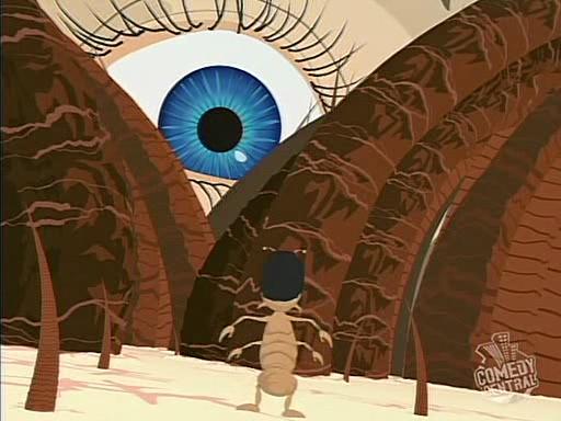 South Park i wszystkowidzące oko