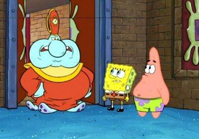 Spongebob Squarepants i wszystkowidzące oko