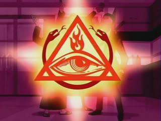 The Venture Bros Order of the Triad i wszystkowidzące oko