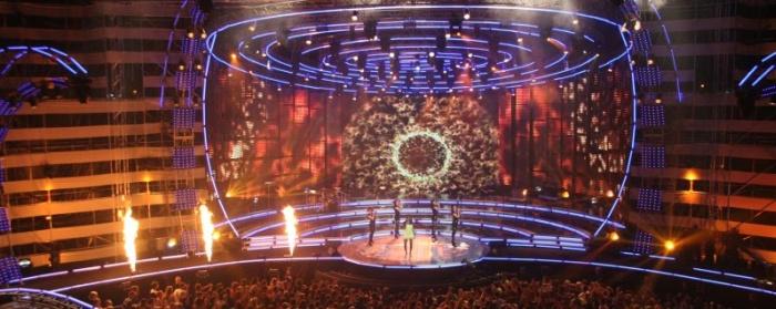 ESKA Music Awards 2007 scena i wszystkowidzące oko