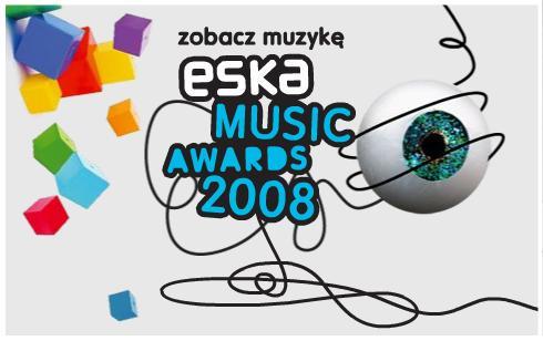 ESKA Music Awards 2008 logo i wszystkowidzące oko