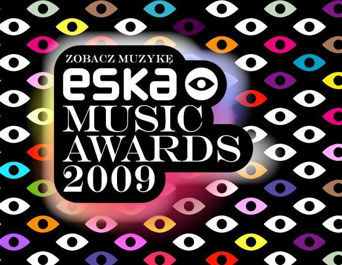 ESKA Music Awards 2009 logo i wszystkowidzące oko