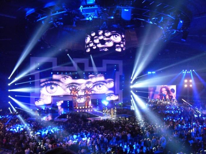 ESKA Music Awards 2011 i wszystkowidzące oko