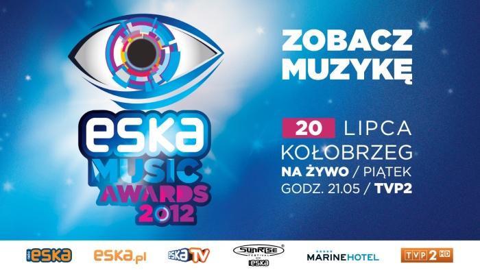 ESKA Music Awards 2012 logo i wszystkowidzące oko