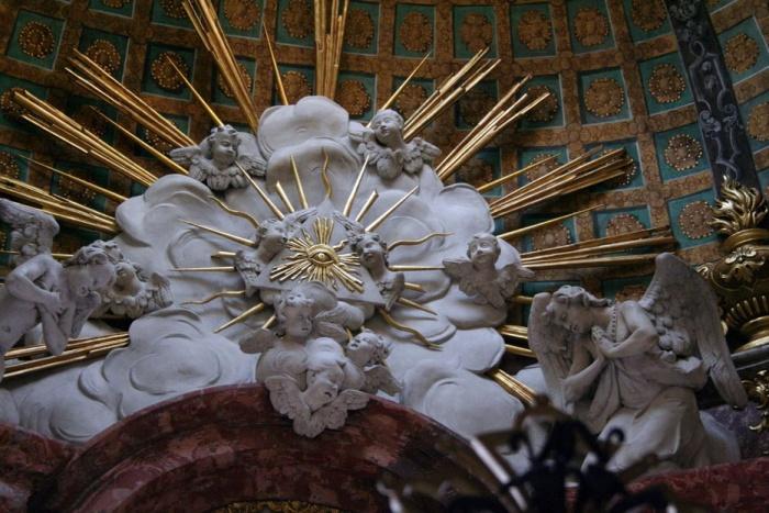 Organy w katedrze Oliwskiej Gdańsk i wszystkowidzące oko