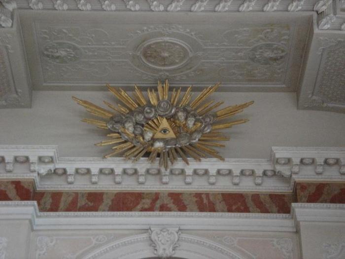Katolicki kościół w Mannheim, Niemcy.
