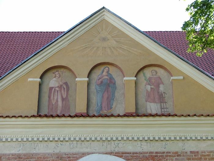 Kościół katolicki p.w. św. Maryi w Wilnie, Litwa.