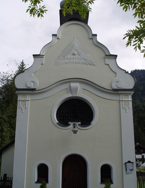 Kapliczka katolicka. Gdzieś w Austrii.