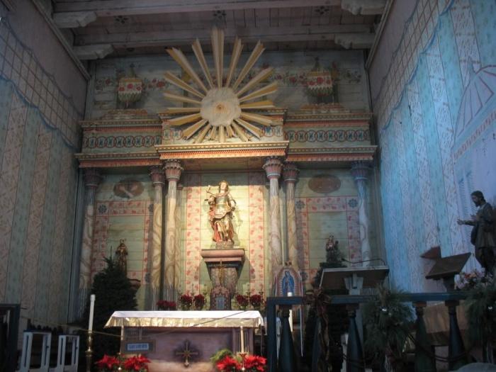 Kościół katolicki w Kalifornii, USA.