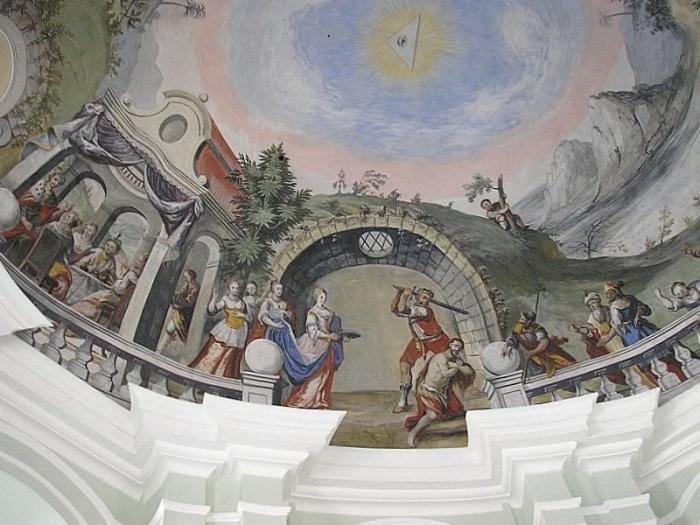 Kościół katolicki Jezuitów w Landsberg w Bawarii, Niemcy