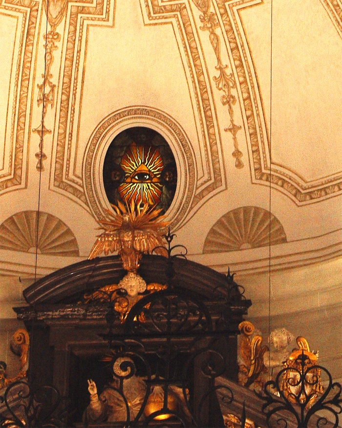 Kościół katolicki w Rzymie.