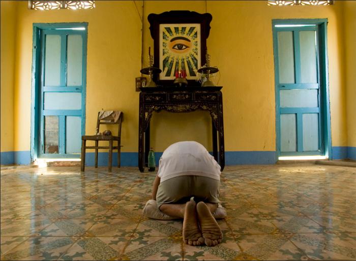 Bałwochwalstwo i wszystkowidzące oko Cao-Dai-temple,-Cao-Lanh,-Mekong-Delta