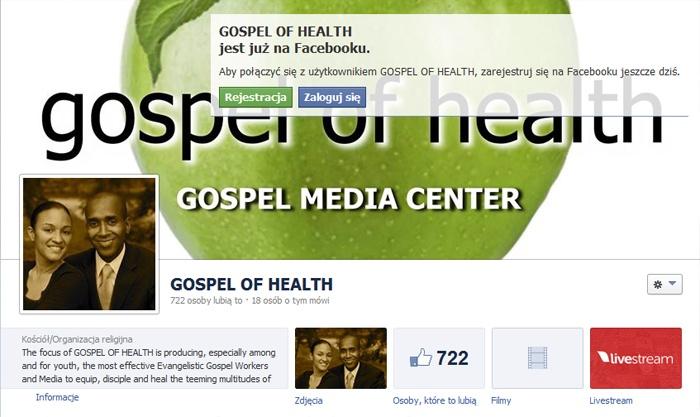 Ewangelia zdrowia kościoła adwentystów dnia siódmego
